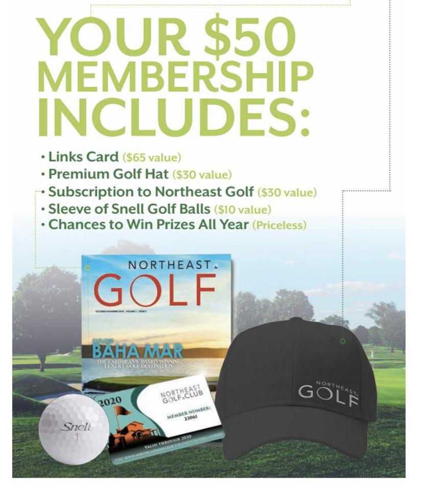Join the Northeast Golf Club
