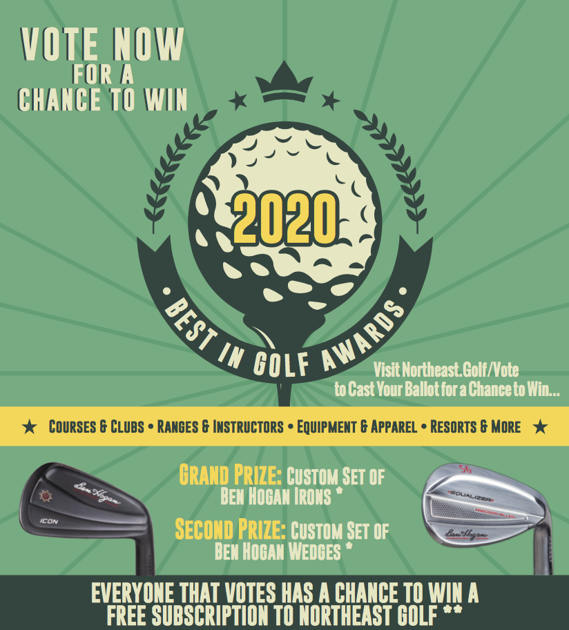 Vote for the Best in Golf Awards for a Chance to Win!